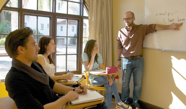 Sprachschule santa barbara unterricht eurocentres