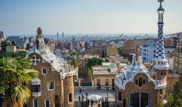 Sprachreisen barcelona park guell