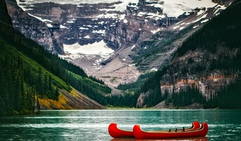 Sprachreisen kanada lake louise
