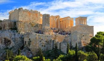 Sprachreisen athen akropolis